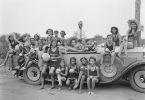 Highland Beach, Maryland, YWCA camp for girls. 1930-31.
