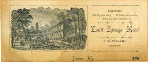 Estill Springs Hotel, late 1800s