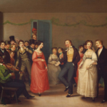 Rustic Dance After a Sleigh Ride (1830) by William Sidney Mount