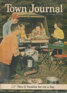 Cover of Town Journal, July 1956