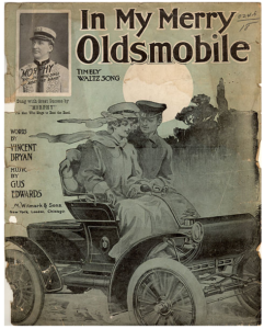 In My Merry Oldsmobile Sheet Music 1905