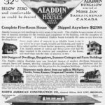 Aladdin Homes Mail Order Advertisement, 1912