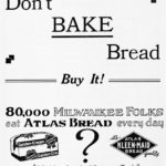 Which is better? Home made or store bought bread? 1922