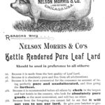 advertisement for lard, a pure food, 1891