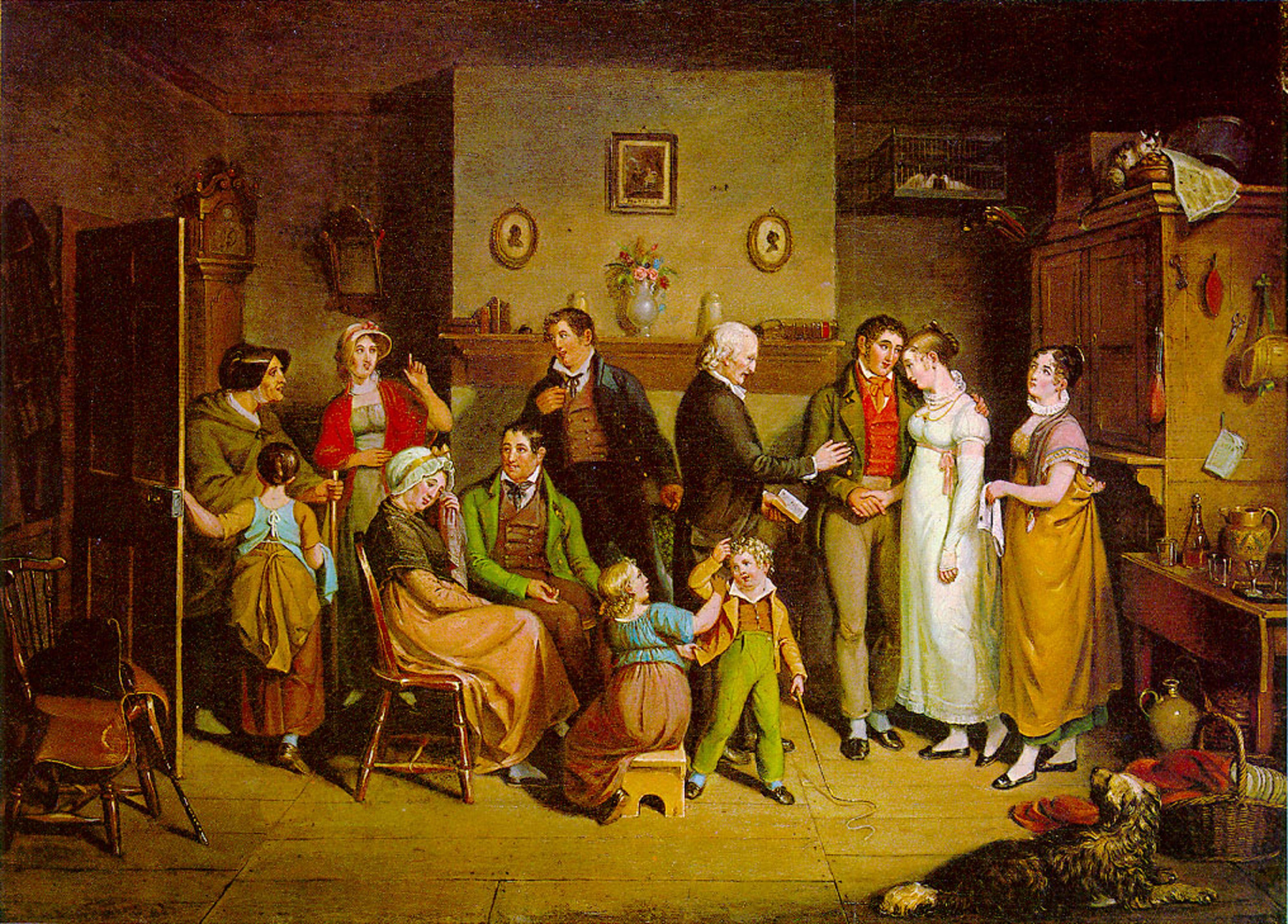 """An Eighteenth Century """"Date""""- Bundling"""