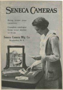 Seneca Camera Ad, 1919