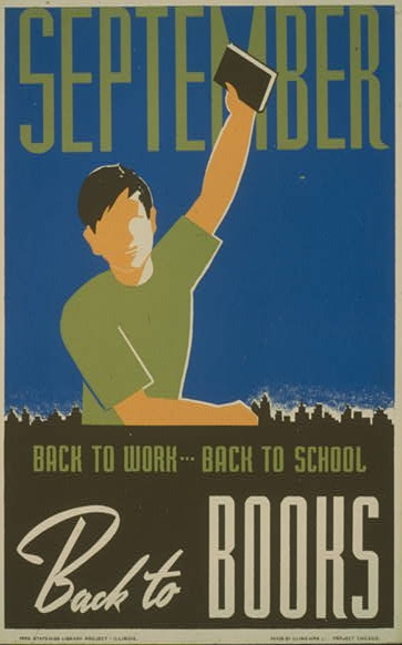 Federal Art Project, WPA Poster, 1940