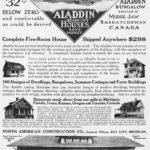 Aladdin Homes Mail Order Advertisement, 1912