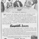 Maid in 1909 Campbell's Soup Advertisement