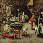 Cooking in the pre-industrial home, 17th century