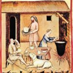 Making cheese in the pre-industrial era