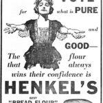 Ad for bread flour, 1921