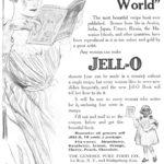 Jell-O Advertisement, 1909